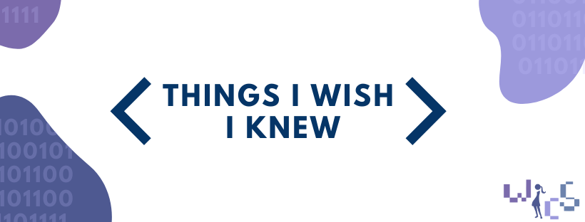 Things I Wish I Knew